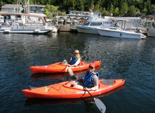 09/09/12: Kayaking in Pender Harbor, BC