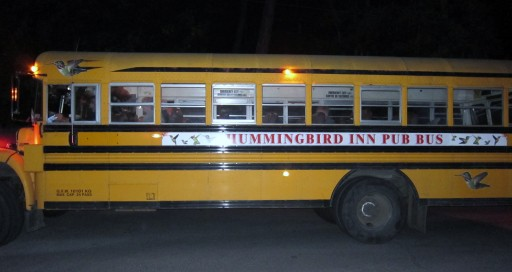 The Hummingbird Pub Bus