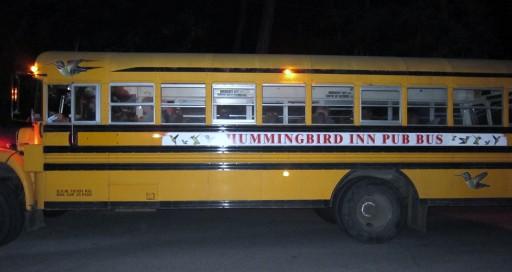 The Hummingbird Pub Bus