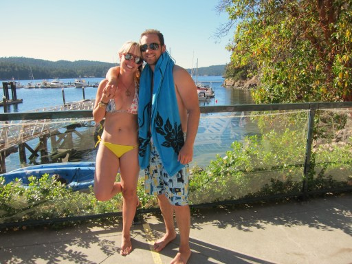 09/12/12: Chillaxin in Poet's Cove on South Pender Island