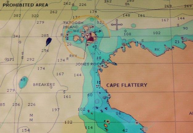 Rounding Cape Flattery