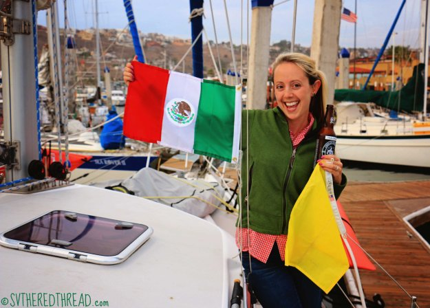 #Ensenada_Jessie courtesy flag