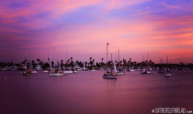 #La Playa_Stunning sunset