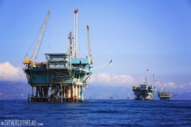 #Santa Barbara Channel_Oil rigs