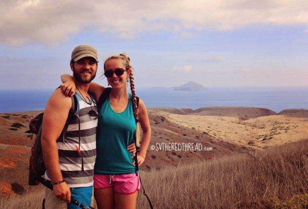 #Santa Cruz Island_Hike from Smugglers Cove