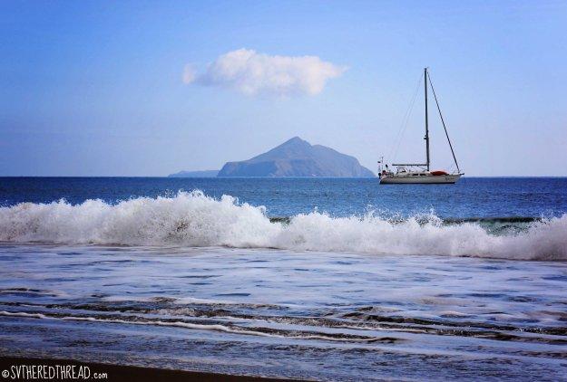 #Santa Cruz Island_Smugglers Cove anchorage