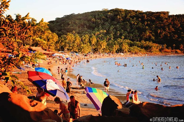 #Chacala_Beach at sunset