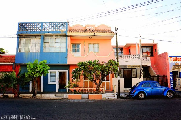 #Mazatlan_Colorful streets