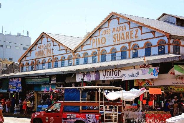 #Mazatlan_Municipal Market Old Town