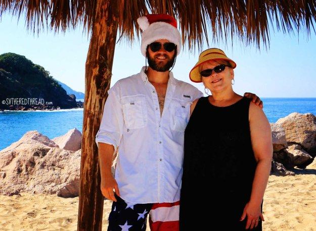 #Feliz Navidad_Neil & mom