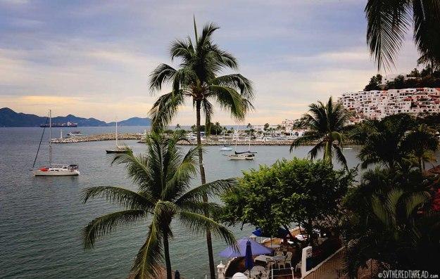 #Las Hadas_Vista from Paradise Cafe