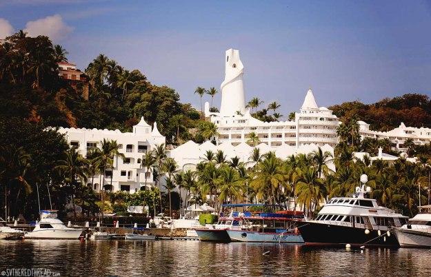 #Las Hadas_Vista from the marina