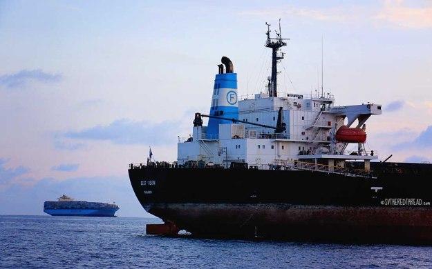 #Manzanillo_Cargo ships