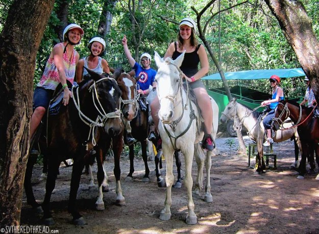 #Amy's 30th_Horseback riding1