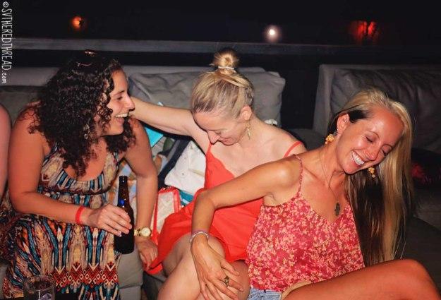 #Amy's 30th_Tres amigas