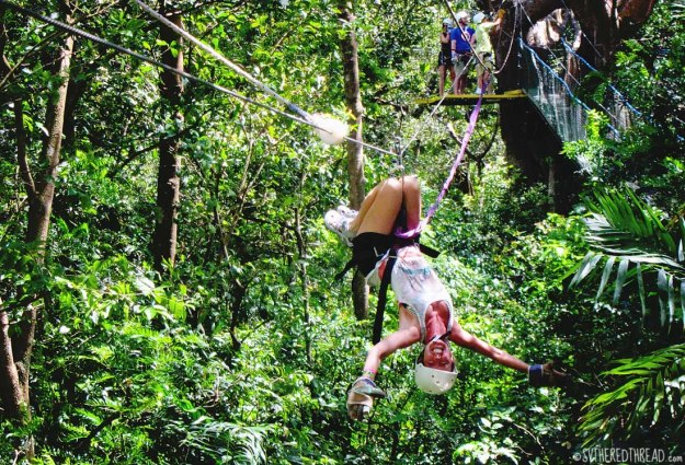 #Amy's 30th_Zipline Jessie