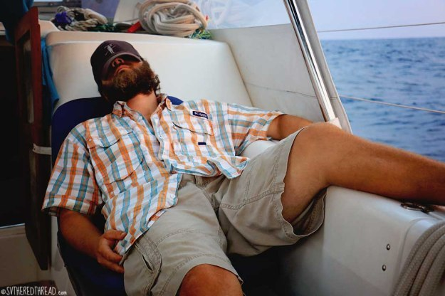 #Passage to CR_Neil snoozing