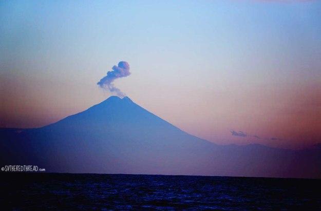 #Passage to CR_Volcano off El Salvador