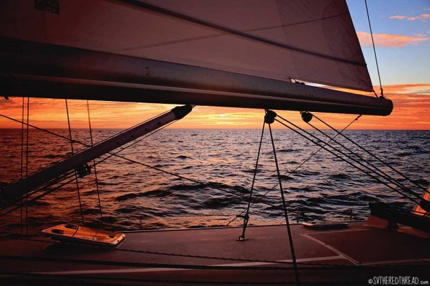 #Passage to Chamela_Sunset below the boom