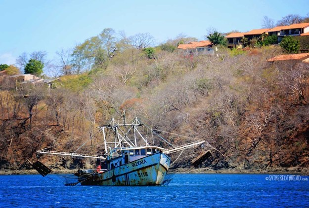 #Playa Panama_Fishing trawler