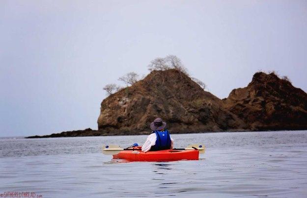 #Bahia Huevos_Neil kayaking