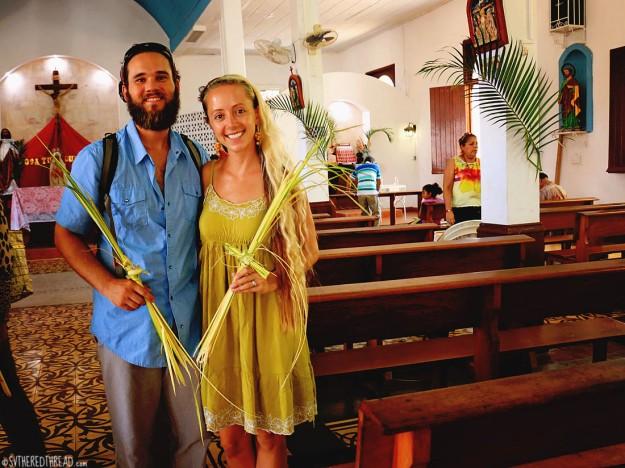 #Isla El Tigre_Palm Sunday