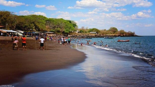 #Isla El Tigre_Playa Negra sands