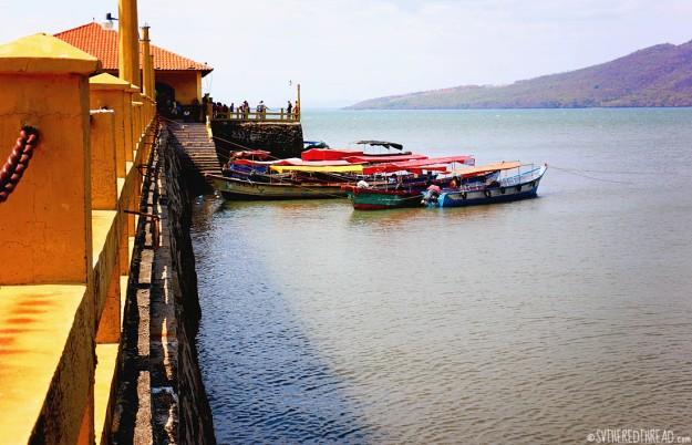 #Isla El Tigre_The pier at Amapala