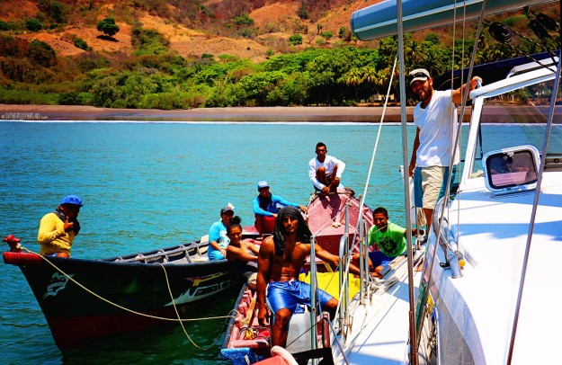#Isla Meanguera day 1_New friends