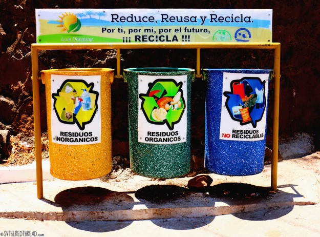 #Isla Meanguera day 2_Recycling