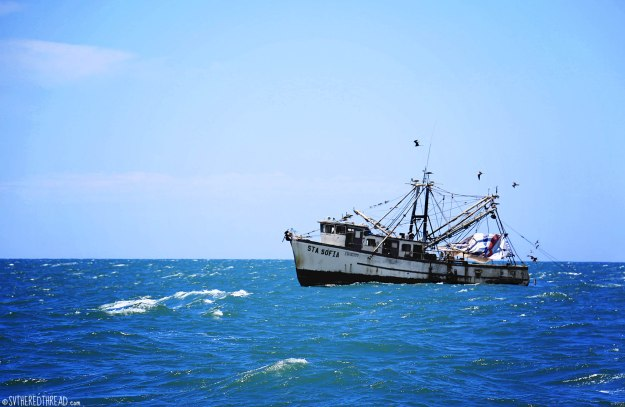 #Passage to Barillas_Fishing trawler