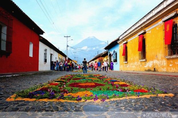 #Antigua_Alfombra_Vista from an alfombra