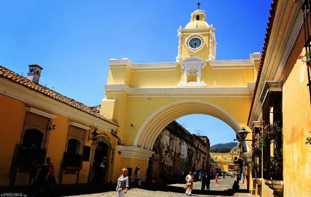 #Antigua_Arco Santa Catalina