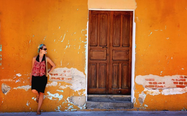 #Antigua_Jessie loves doors