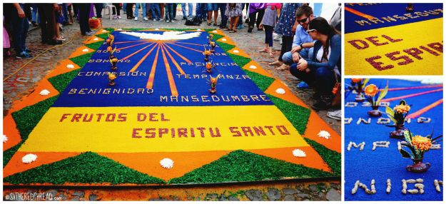 #Antigua_Semana Santa Alfombra3_collage