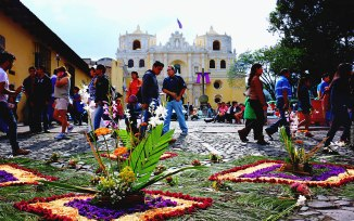 #Antigua_Semana Santa_Alfombra at La Merced