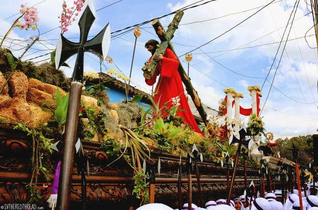 #Antigua_Semana Santa_Christ's burden
