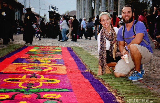 #Antigua_Semana Santa_Jessie & Neil