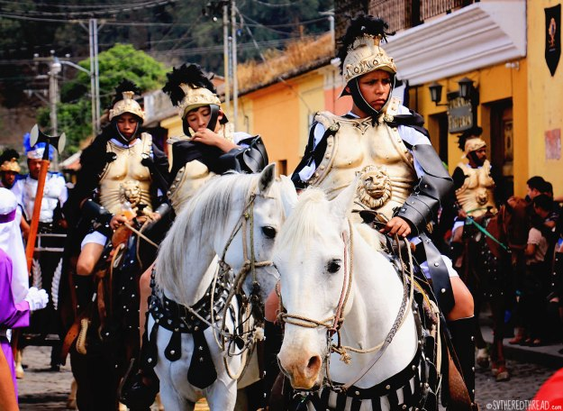 #Antigua_Semana Santa_Roman soldier2