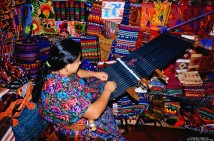 #Antigua_Woman weaving1