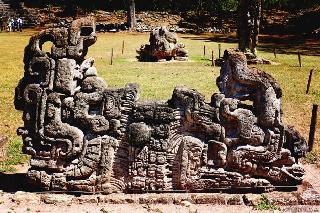 #Copan ruins_Sculpture1