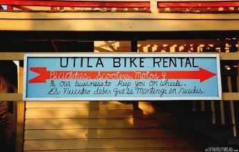 #Utila_Utila bike rental
