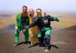 #Cerro Negro_Neil, Jessie, and Tim