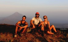 #El Hoyo_Neil, Jessie & Tim @ sunset