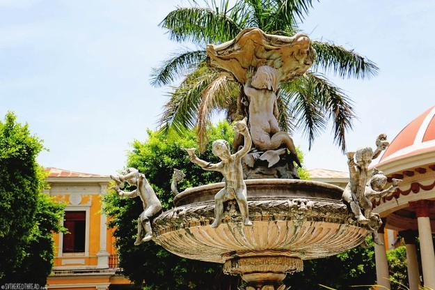 #Granada_Parque Central fountain1