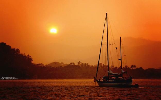 #Bahia Ballena_Seahorse V at anchor