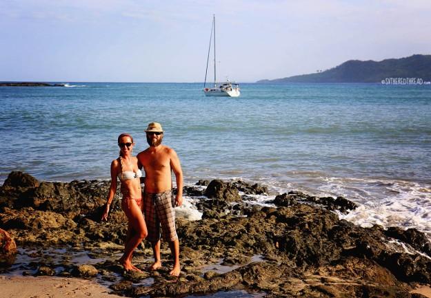 #Ballena beach_Neil & Jessie1