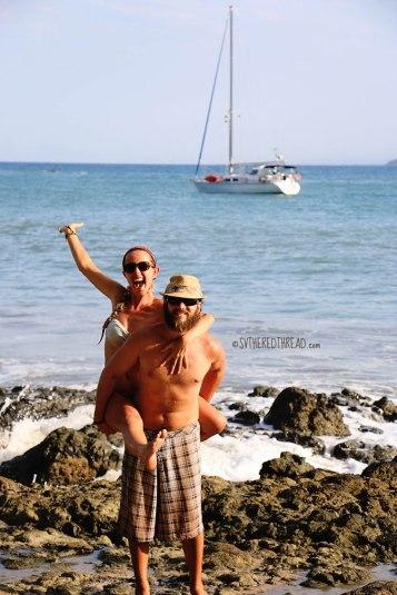 #Ballena beach_Neil & Jessie3