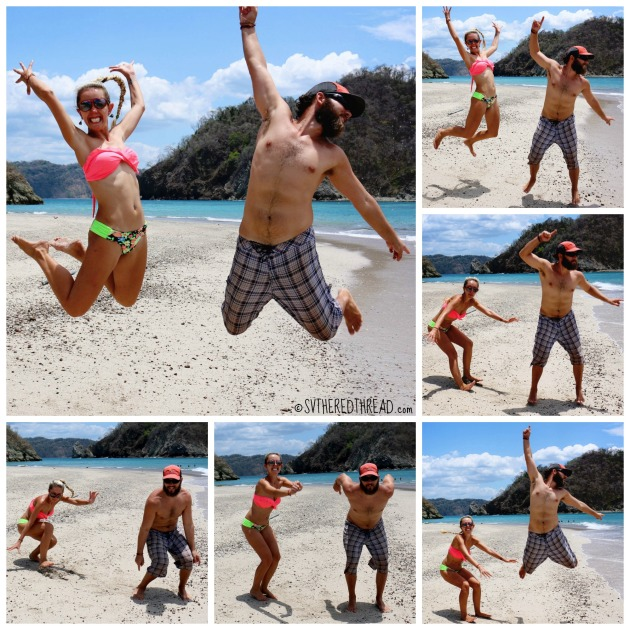 #Isla Tortugas_Jumping collage