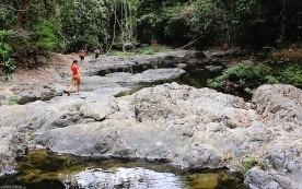 #Montezuma falls_Mark, Helen, & Jessie
